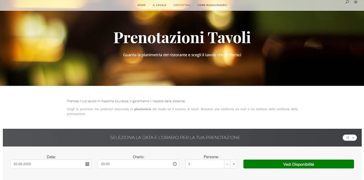 realizzazione Siti per agenzie immobiliari - Esempio di home page